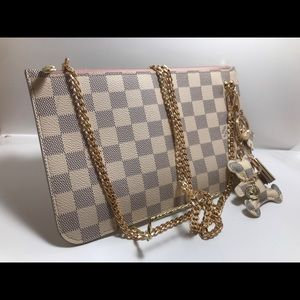 Louis Vuitton Damier azur crossbody Pochette